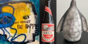Malerier, fotos og keramik - nye udstillinger i Sløjfen