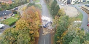 Afspærring af Randersvej forlænget til tirsdag 03. november 2020  