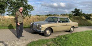 Mercedes 250 CE er i dag en sjælden klassiker