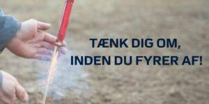 Østjyllands Politi advarer mod forkert brug af fyrværkeri
