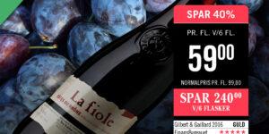 Gå ikke glip af dette Supertilbud på Rhône-vinenLa Fiole (2015)fra detprestigefyldte vinhus Brotte.