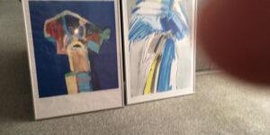 2 litografier sælges