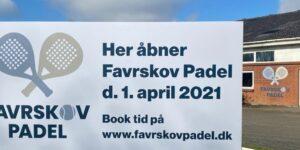 FAVRSKOV PADEL KOMMER TIL HADSTEN