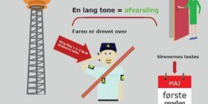 Beredskab & Sikkerhed - Randers, Favrskov, Djursland lader sirenerne lyde