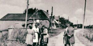 De nye grænseovergange fra 1920 skulle have plads til de nymodens biler!