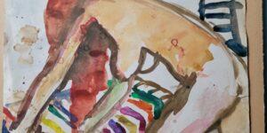 Kom tæt på Vibeke Lawaetz' formsprog og farver i Uhresalen