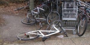 KÆMP-cykel-KAOS ved Stationen i Hadsten