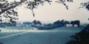 Bette-Ødum - mellem byskiltet og motorvejen.