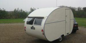 Danmarks ældste campingvogn?