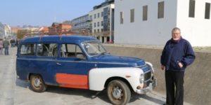 Finn Klitgaards Volvo 210 har været en trofast slider gennem 30 år