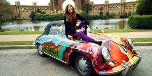 Janis Joplins psykedeliske Porsche på auktion