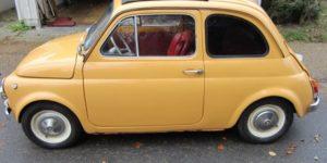 Den lille Fiat 500 starter og kører perfekt - skal den være din?