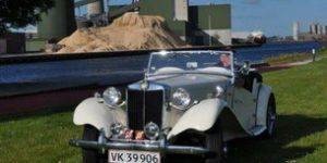 Drømmebilen blev en MG sportsvogn