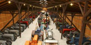 Sjælden traktorsamling spredes for alle vinde