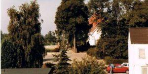 Ødum Torv fra 1700-tallet og til nu.