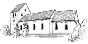 Historien om Ødum Kirke - fra  1100tallet.