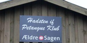 Amorsen har besøgt Hadsten Petanque Klub
