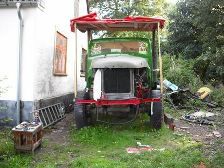 gamle volvo lastbiler