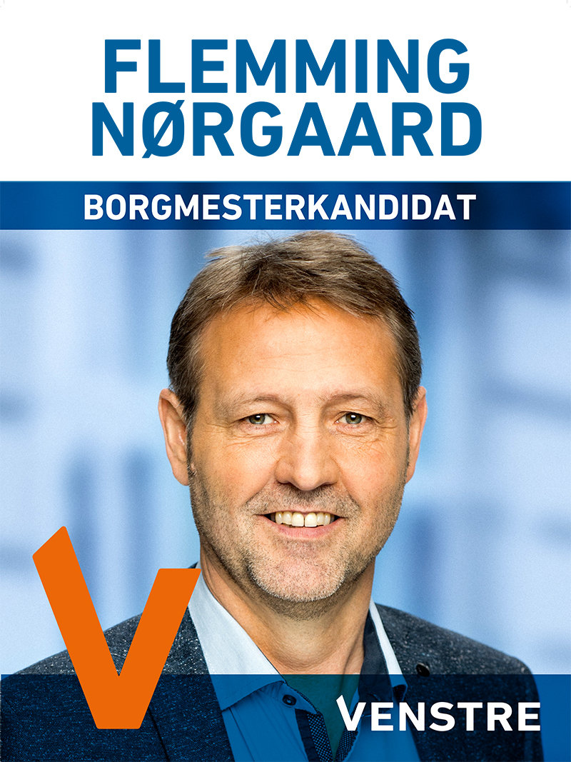 Flemming Nørgaard, Venstre - borgmesterkandidat
