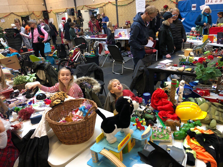 Det traditionsrige julemarked på Friskolen i Hinnerup står for døren