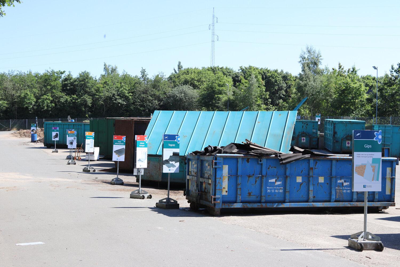 Nye genbrugspladser i Favrskov