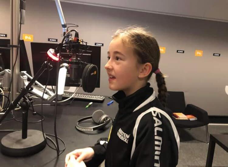 Hørte i lige SEJE Puk fra U11 piger påDR P4 Østjylland..?🤩🙏