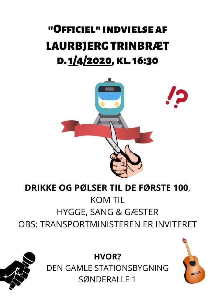 Trinbrætsindvielse Sønderalle 1, Laurbjerg