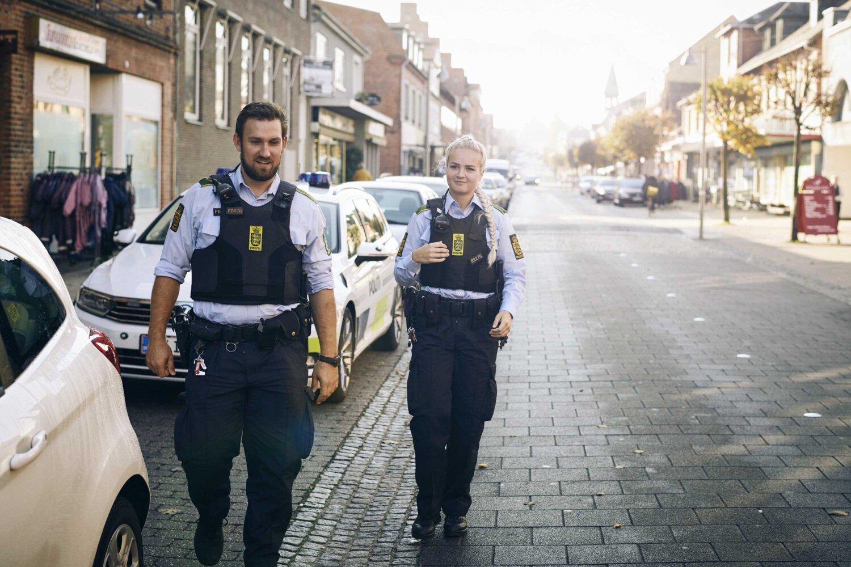 Jobinformationsmøde hos politiet i Aarhus