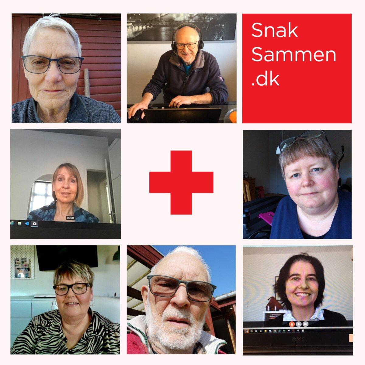 Røde Kors Hadsten-Hinnerup - nyt initiativ SnakSammen