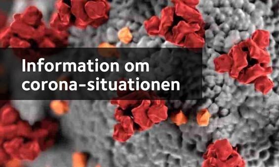 Information om coronasituationen i Favrskov Kommune