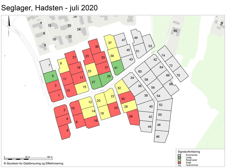 20 nye boliggrunde solgt i Hadsten på kort tid