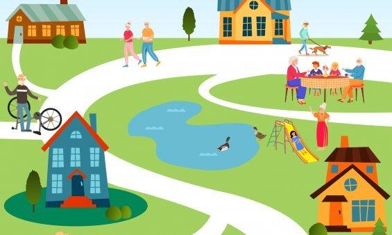 Favrskov sætter fokus på boliger med fællesskab