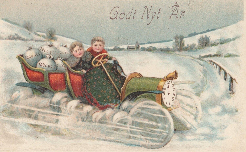 Må vi ønske læserne et godt og lykkebringende nytår?